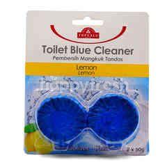 TOPVALU Lemon Toilet Blue Cleaner (2X50g)