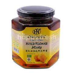 Hn Health & Nature Organic Raw & Pure Wild Flower Honey