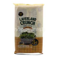 Manjun Sweet Soy Laverland Crunch (3 Packets)
