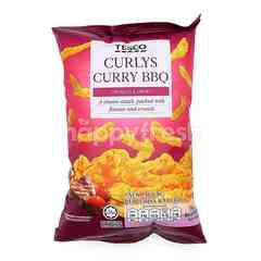Tesco Curlys Curry BBQ