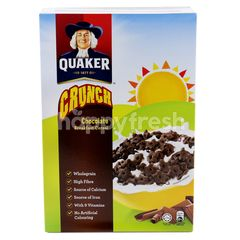 Quaker Crunch Chocolate Breakfast Cereal