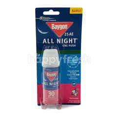 Baygon All Night One Push Anti Mosquito Flower Garden