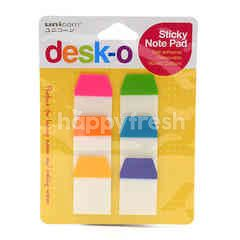 Unicorn Desk-O Sticky Note Pad