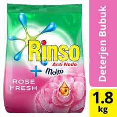 Rinso plus Molto Rose Fresh Laundry Detergent Powder