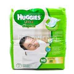 Huggies Natural Soft Newborn Diapers 48Pcs