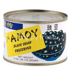 Amoy Canned Preserved Black Beans