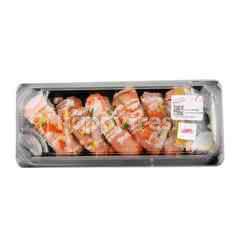 Thammachart Seafood Smoked Salmon Sushi