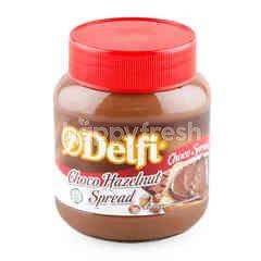 เดลฟี่ สเปรดสำหรับทาขนมปัง รสช็อกโกแลตผสมเฮเซลนัทบด