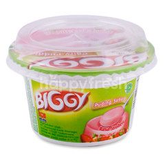 Biggy Dairy Pudding Strawberry