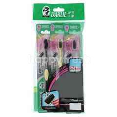DARLIE  Nano Charcoal Clean Tooth Brush (3 Pieces)