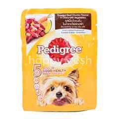 Pedigree Makanan Anjing Rasa Daging dan Sayuran