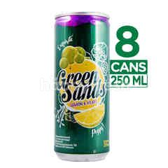 Green Sands Lemon And Grape Carbonated Drinks 8 can