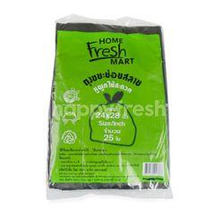 Home Fresh Mart Black Garbage Bags