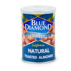 BLUE DIAMOND Natural Toasted Almonds Unsalted