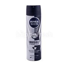 Nivea Men Deodorant Spray Pria Invisible untuk Hitam dan Putih