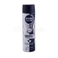 Nivea Men Deodorant Spray Invisible for Black & White