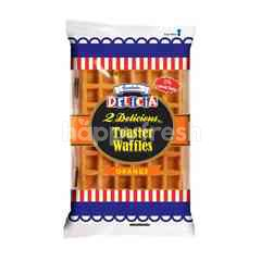 GARDENIA Orange Flavoured Toaster Waffles (2 Pieces)