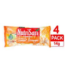 Nutrisari American Sweet Orange Flavored Instant Powdered Drink 4 Pack
