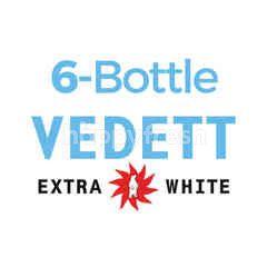 บี-เดลิเชียส สินค้าขายยกเซ็ท เบียร์วีเด็ด เอ็กซ์ตร้า ไวท์ 6 ขวด