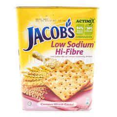 Jacobs Low Sodium Hi- Fibre Wheat Crackers