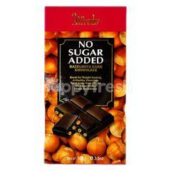 Alfredo No Sugar Added Hazelnuts Dark Chocolate