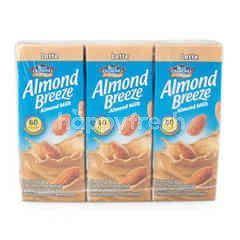 Blue Diamond Almond Breeze Latte Flavor Almond Milk 180 ml X 3 Pack