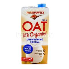 Pure Harvest Organic Oat Milk Unsweetened Original