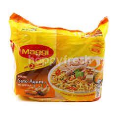 Maggi Instant Noodle Soto Ayam Flavour (5 Pieces)