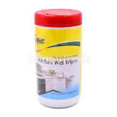 Giant Kitchen Wet Wipes (35 Pieces)