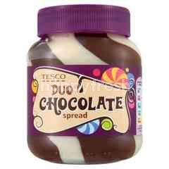 Tesco Duo Chocolate Spread