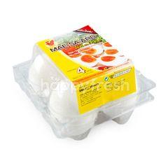 ฟาร์มแม่สะอาด ไข่เค็มต้มสุก (4 ฟอง)