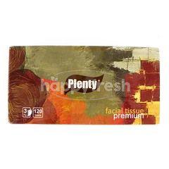 Plenty Premium Facial Tissue (120 sheets)