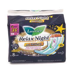 Laurier Relax Night dengan Lipatan 35cm
