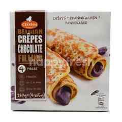 Creapan Belgian Crepes Chocolate Filling (4 x 65g)