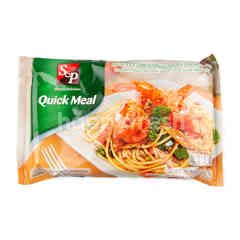 S&P Spaghetti Prawns And Black Pepper Sauce