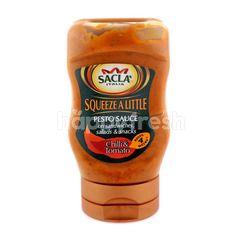 Sacla Squeeze A Little Chilli & Tomato Pesto Sauce