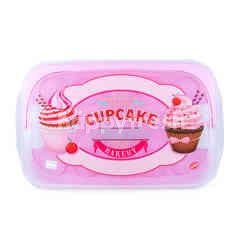 Snips Kotak Penyimpanan Cupcake