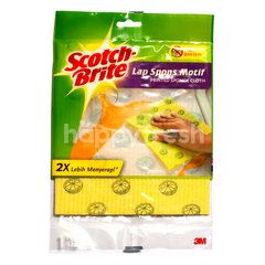 Scotch-Brite Patterned Sponge Cloth