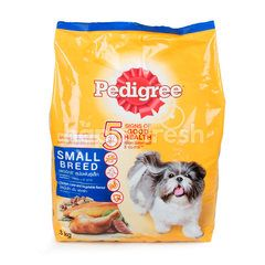 Pedigree Chicken, Liver & Vegetable Flavour For Small Breed Dog Food
