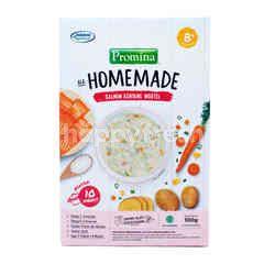 Promina Ala Home Made Makanan Bayi dengan Salmon & Wortel