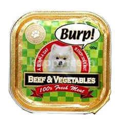 Burp! Beef & Vegetable 100g