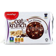 Munchy's Oat Krunch Dark Chocolate Cookies (8 Packs)