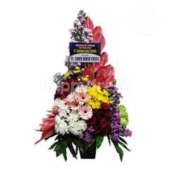 Citra Florist High Style Mix Flower with Gebra Table Bouquet