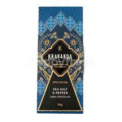 Krakakoa Sea Salt and Pepper Dark Chocolate