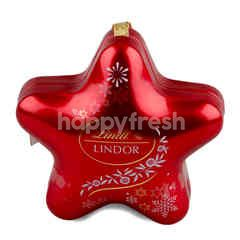 Lindt Lindor X'Mas 3D Star Tin Chocolate (Star)