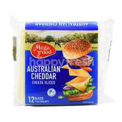 Mega Food Australian Cheddar Cheese Slices 24 Slices