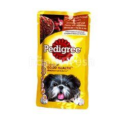 Pedigree Simmered Beef Loaf Flavour With Vegetables Dog Food