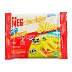 MEG Cheddar Cheese Slice