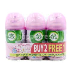 Air Wick Floral Bouquet Scent Freshamtic Air Freshener Refill Spray (3 Pieces)