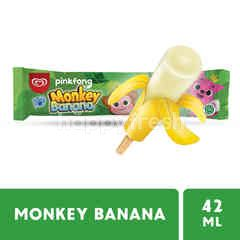 Wall's Paddle Pop Monkey Banana Ice Cream